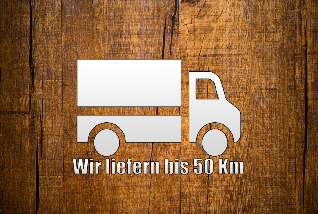 Wir liefern Brennholz, Pellets, Briketts bis 50km